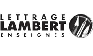 Lettrage Lambert