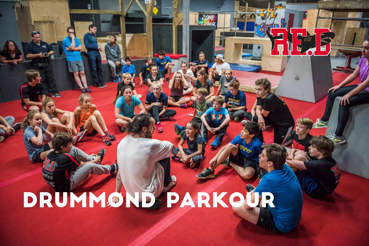 Activité de la rentrée - Parkour Drummond 30 sept. 2017