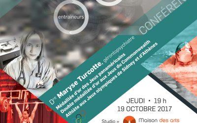 Conférence Dre Maryse Turcotte