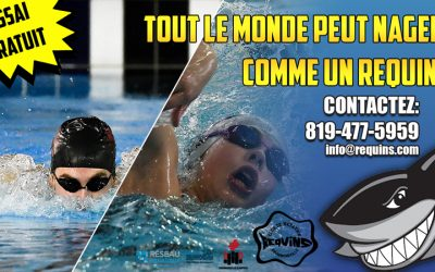 Invitation! Venez nager comme un requin!