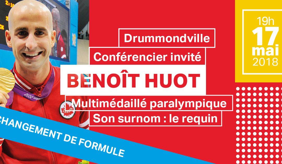 Changement de formule – Conférence de M. Benoît Huot
