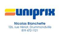 Uniprix Nicolas Blanchette