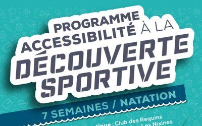 Programme d'accessibilité à la découverte sportive